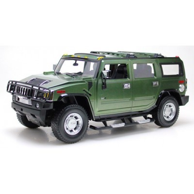 Радиоуправляемая машина MZ Hummer H2 Green 1:10 - 2056A