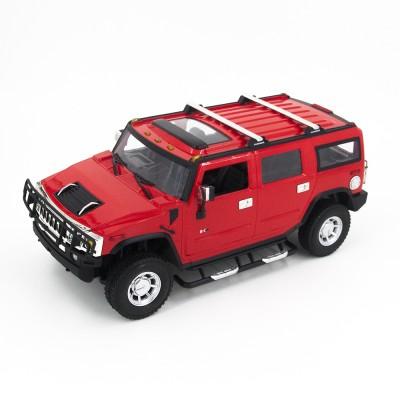 Радиоуправляемая машина Hummer H2 Red 1:14 - MZ-2026-R
