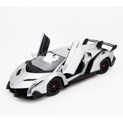Радиоуправляемая машина MZ Lamborghini Veneno Silver 1:10 - 2187-S
