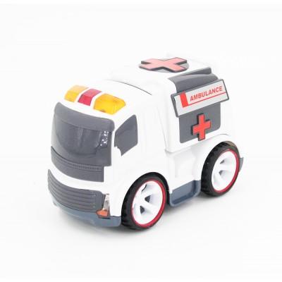 Радиоуправляемая машина Скорая помощь для малышей 1:18 - 7777-37