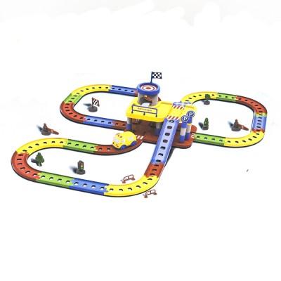 """Детский игровой набор автотрек-конструктор """"Твой старт - Автопарк"""" - ZYA-A1547-2"""