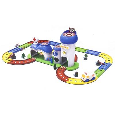 """Детский игровой набор автотрек-конструктор """"Твой старт - Больница"""" - ZYA-A1547-1"""