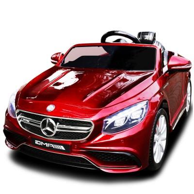 Детский электромобиль Mercedes Benz S63 LUXURY 2.4G - Red - HL169-LUX-R