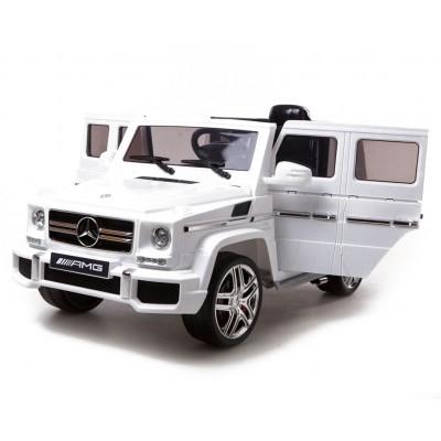 Детский электромобиль Mercedes Benz G63 LUXURY 2.4G - White - HL168-LUX-W