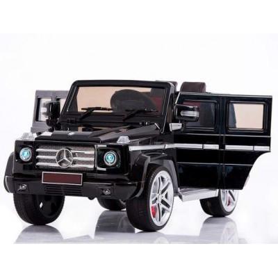 Радиоуправляемый детский электромобиль Mercedes Benz G55 Black 12V 2.4G - DMD-178