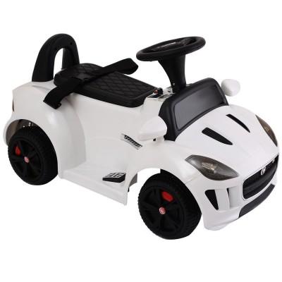 Детский электромобиль-каталка Dongma Jaguar F-Type Convertible White 6V 2.4G - DMD-238-W