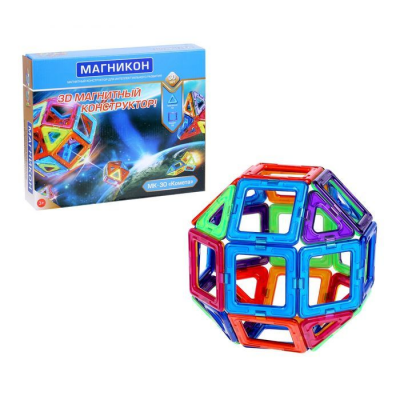 Магнитный 3D конструктор Магникон Комета MK-30 - MK-30