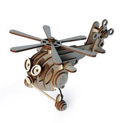 Деревянный конструктор Lemmo Вертолет