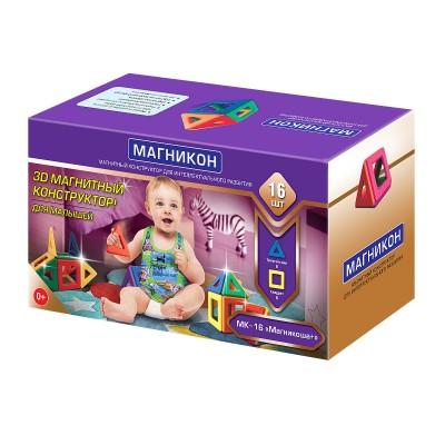 Магнитный констуктор для малышей Магникоша - MK-16