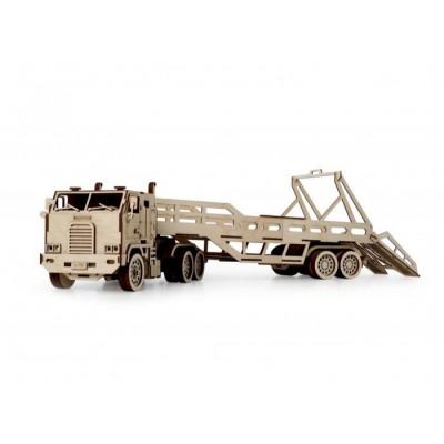 Конструктор 3D деревянный подвижный Lemmo Автовоз - ГР-4
