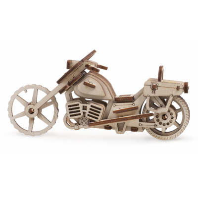 Деревянный 3D конструктор Lemmo Байк