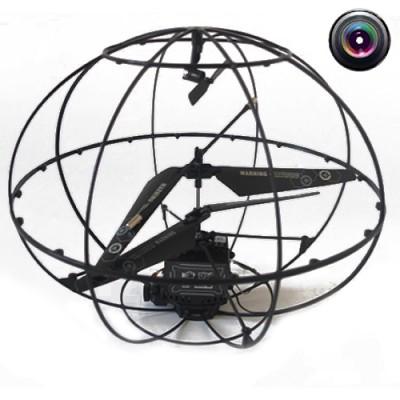 Радиоуправляемый вертолет-шар с камерой HappyCow Robotic UFO - 777-289