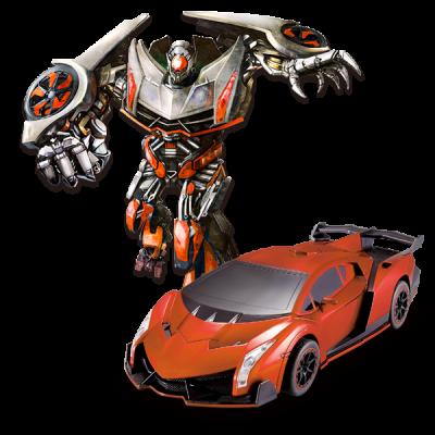 Радиоуправляемый робот-трансформер JQ Troopers Violent - TT667C