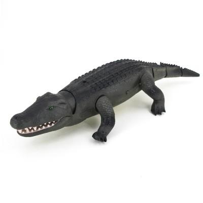 Радиоуправляемый зеленый крокодил со световым автоматом RuiCheng - 9985B
