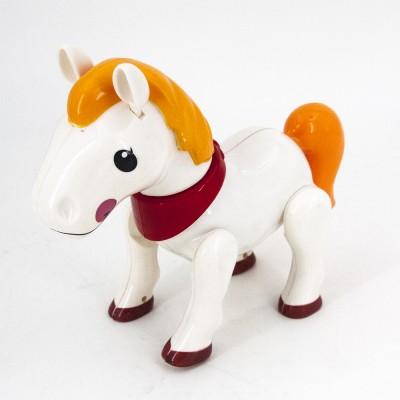 Радиоуправляемая белая лошадка