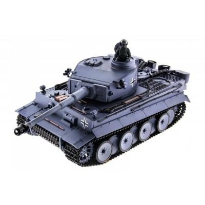 Радиоуправляемый танк HL Tiger / Тигр Li-Ion с дымом 1:16 2.4G - HL-3818-1