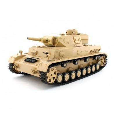 Радиоуправляемый танк Heng Long DAK Pz. Kpfw.IV Ausf. F-1 1:16 - 3858-1