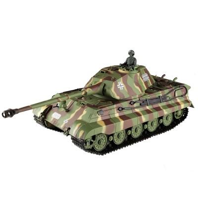 Радиоуправляемый танк Heng Long German King - 3888-1