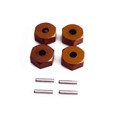 Алюминиевые колесные хабы HSP (4 шт) - 680016