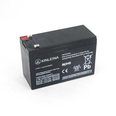 Аккумулятор XINLEINA 12V7Ah/20Hr - 6-FM-7