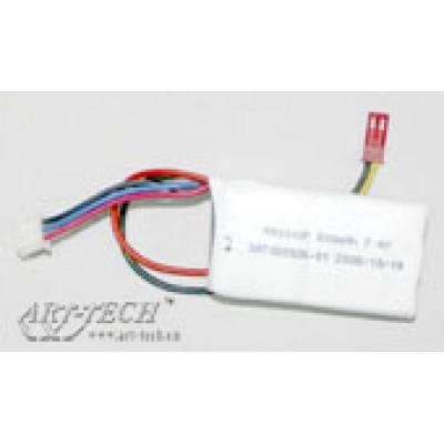 Аккумулятор Li-po (7.4V 800mAh) Art-tech - 3F02H