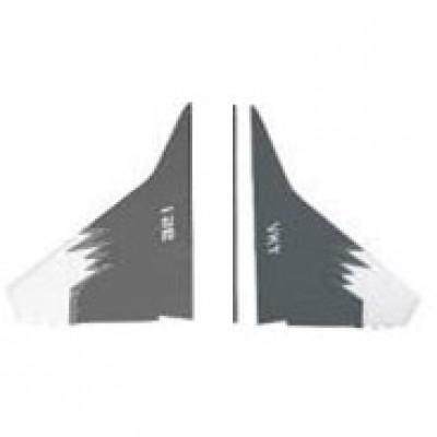Набор вертикальных хвоcтовых крыльев - 30003