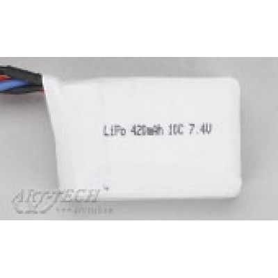 Аккумулятор li-po 7.4V,420mAh Art-tech - 3F02K