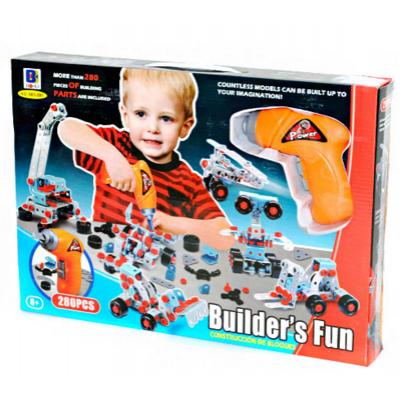 Детский конструктор шуруповерт