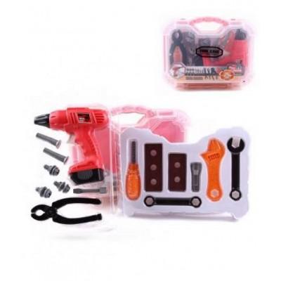 Игровой набор инструментов ( 2 вида, в чемодане)