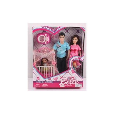 Игровой набор Belle - Счастливая семья