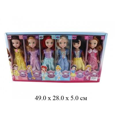 Кукла 6 видов,6 шт в упаковке 48*28*5 см.