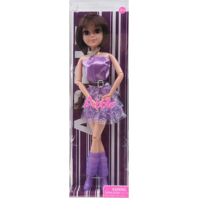 Кукла Эбби модница, 28 см, подвижные части тела, дисплей 12 штук коробка
