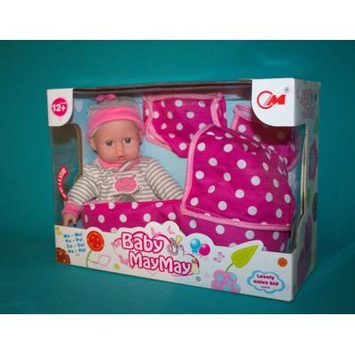 Кукла пупс Baby May May с аксессуарами