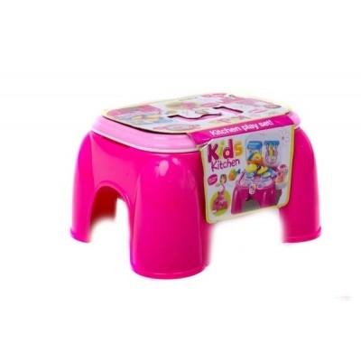 Игровой набор 2в1 Кухня-стульчик без коробки