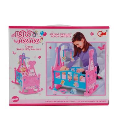 """Игровой набор """"Кроватка для кукол"""" с пупсом"""