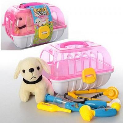 Набор доктора в чемодане с собачкой (6 предметов)