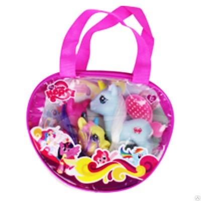 Набор Пони в сумке Lovel Horse световые эффекты