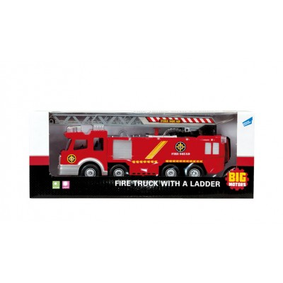 Игровой набор BIG MOTORS пожарная  машина с лестницей