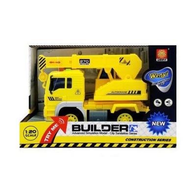 Инерционная машина Builder - Кран (свет, звук)