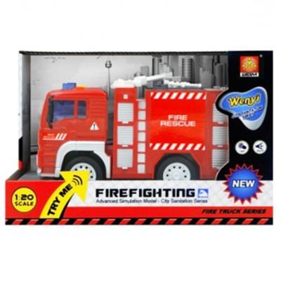 Инерционная Пожарная машина