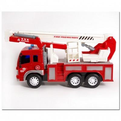Инерционная Пожарная машина с летницей Firefighting
