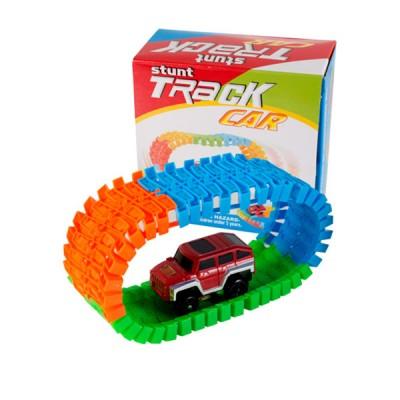 Игрушка машинка Stunt Track Car 56 PCS