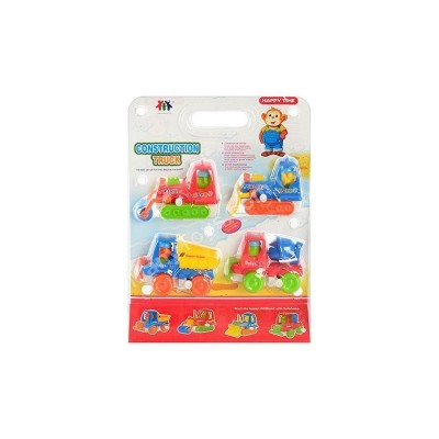 Заводная игрушка Набор Стройтехники