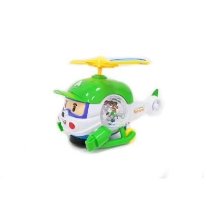 Игрушка Хелли — вертолет двигается и светится (Robocar)