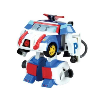 Машинка Робокар Поли — Поли-трансформер с костюмом астронавта, 10 см