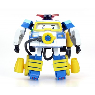 Машинка Робокар Поли — Поли-трансформер с костюмом водолаза, 10 см