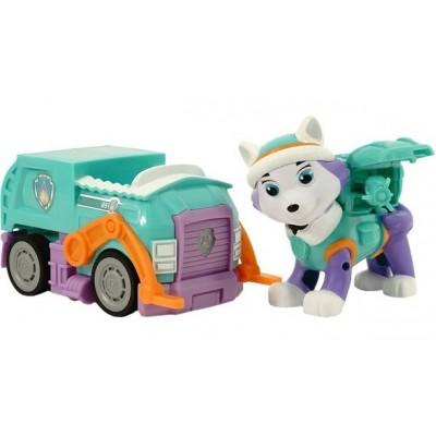 Игрушка Щенячий патруль (Paw Patrol) — Эверест с рюкзаком трансформером и машинка