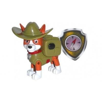Щенячий патруль Трекер в шляпе + значок (Новая серия)