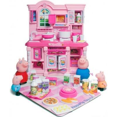 Игровой набор с фигурками Кухня Свинка Пеппа с посудой и аксессуарами