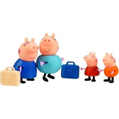 Набор игрушек Свинка Пеппа и семья — Туристы 4 фигуры